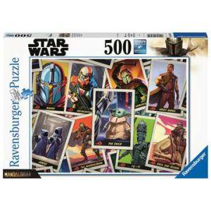 Puzzel 500 stuks star wars - mandalorian the child