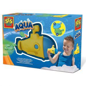 SES Aqua onderzeer met kleurspoor