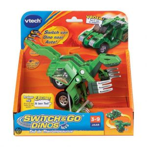 Vtech TSwitch and go Ted de Therizinosaurus