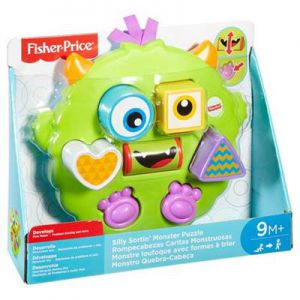 Fisher Price Silly Sortin Monster Puzzel