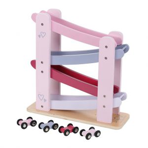 Jipy autobaan hout roze