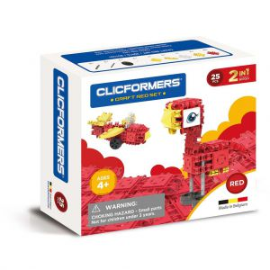 Clicformers Craft Red Set 2 In 1