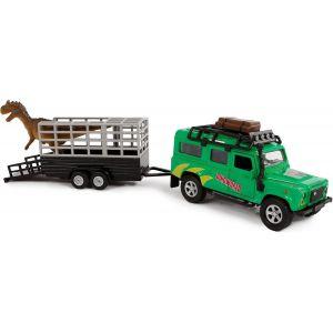 Auto pullback landrover dino trailer