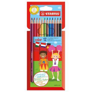 Stabilo color potlood 12 stuks
