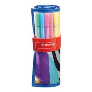 Stabilo pen68 rollerset 25 kleuren