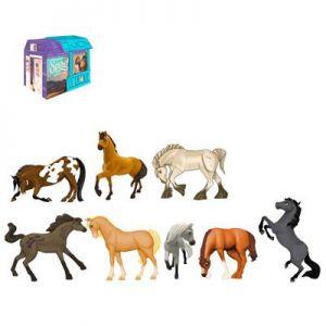 Paard Spirit 8cm assorti