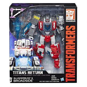 Transformers Gen Voyager Titan Return