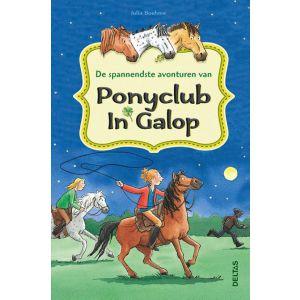 Boek de spannendste avonturen van ponyclub in galop