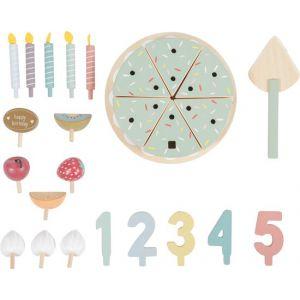 Little Dutch Houten Verjaardagstaart XL - Vanaf 3 Jaar