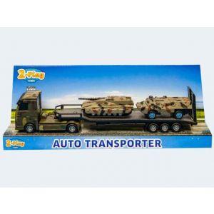 Militairy transporter plastic met tank