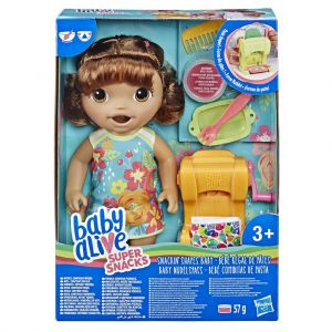 Baby Alive Snackin Shapes Baby Brunette