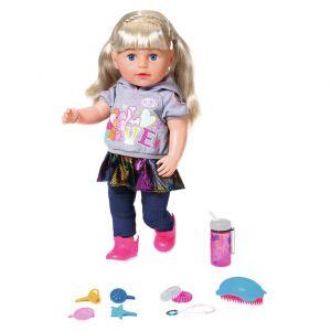 Baby Born Pop Soft Touch Sister Met Functies