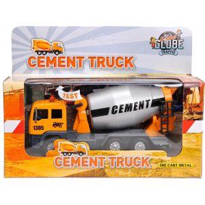 Truk cementmixer met licht en geluid