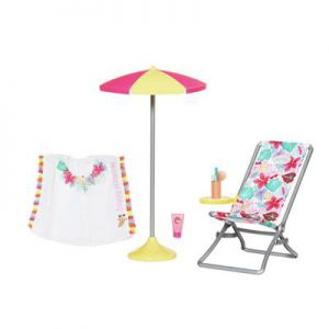 Baby Born Holiday Ligstoel Set 43 Cm