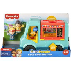 Little people fisher price food truck