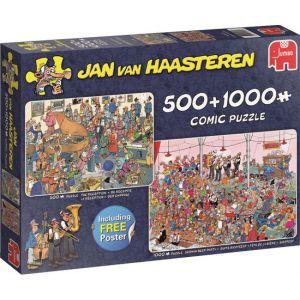Puzzel 500 en 1000 Jan v Haasteren Feestje