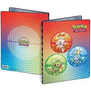Pokemon album sword en shield galar starters