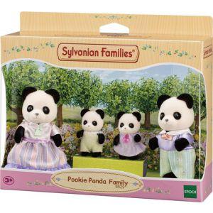 Sylvanian families nacht panda familie