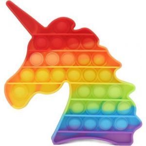 Pop it fidget rainbow unicorn