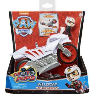 Paw patrol moto themed vehicle Wildcat
