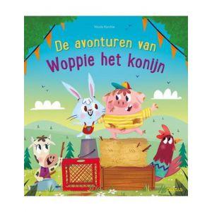 Boek de avonturen van woppie het konijn