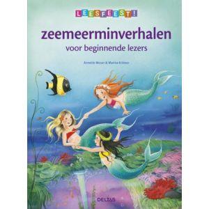 Boek leesfeest! zeemeerminnenverhalen voor beginnende lezers
