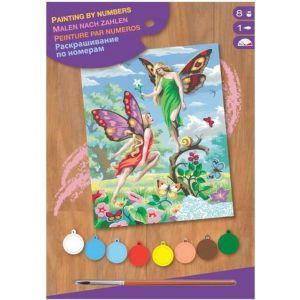Schilderen op nummer fairies