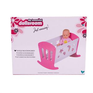 Poppenbed Schommelbed 49 X 37 X 35 Cm My Beautiful Dolls Room
