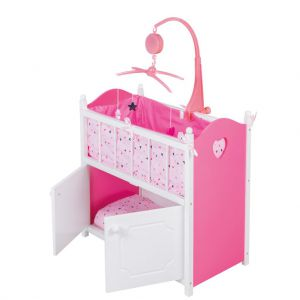Poppenbed Ledikant Met Muziek My Beautiful Dolls Room