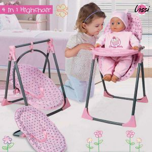 Poppenstoel Baby Boutique 4 in 1