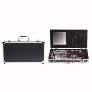 Make-Up koffer zwart breed