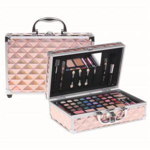 Casuelle Make-up Koffer Roze Holografisch
