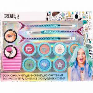 Create It! Make-Up Set Oogschaduw Met Penselen