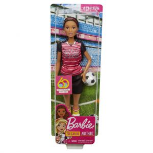Barbie voetballer