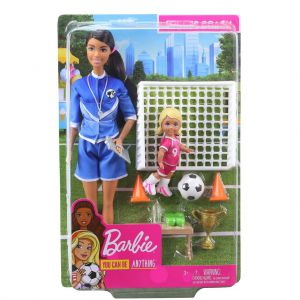 Barbie voetbalcoach