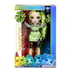 Rainbow High Cheer Doll Jade Hunter Green