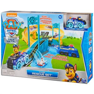 PAW Patrol True Metal Chases Police Rescue Set