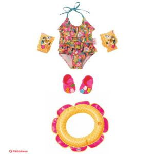 Baby Born deluxe zwem set