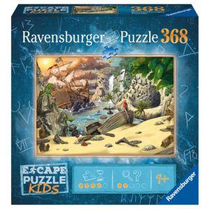 Escape puzzle kids - pirates 368 stukjes