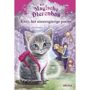 Boek het magische dierenbos Kitty het nieuwsgierige poesje