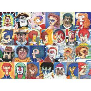 Puzzel 500 stuks lettertypes