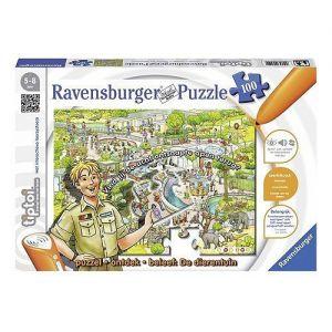 Tiptoi puzzel dierentuin