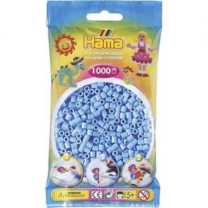 Strijkkralen blauw 1000