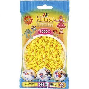 Strijkkralen geel 1000