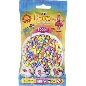 Strijkkralen pastelkleuren 1000