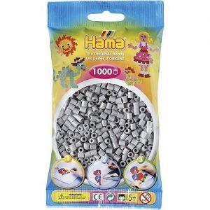 Strijkkralen grijs 1000