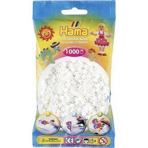 Strijkkralen wit 1000