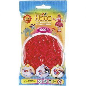 Strijkkralen rood 1000