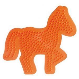 Strijkkralen bord paard