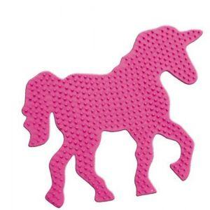 Strijkkralen bord paard fantasie